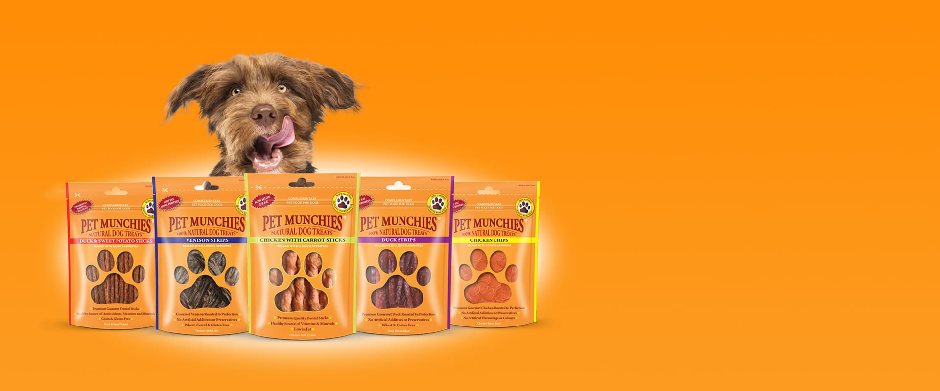 Pet Munchies banner